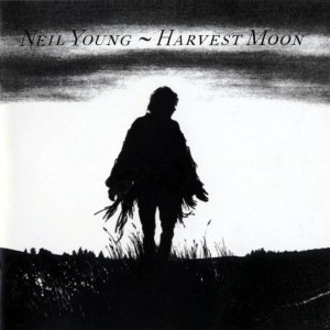 neil young - harvest moon (front)