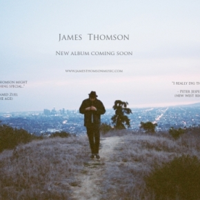 James Thomson crowd funds mixing and mastering of secondalbum