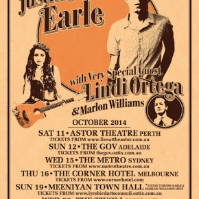 NEWS: Justin Townes Earle announces 2014 Australian tour