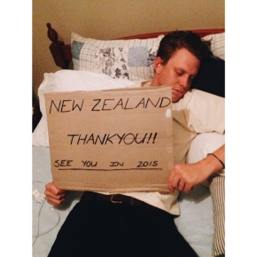TOUR DIARY: Josh Rennie-Hynes ~ New Zealand Tour 2014 – The Final Saga