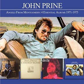 REISSUE: Raven reissues set of four John Prine albums