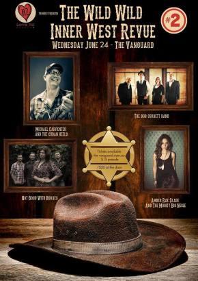 LIVE REVIEW + PHOTOS: The Wild Wild Inner West Revue @ The Vanguard, Newtown24/06/15