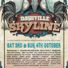 NEWS: Dashville Skyline reveal second line-up announcement