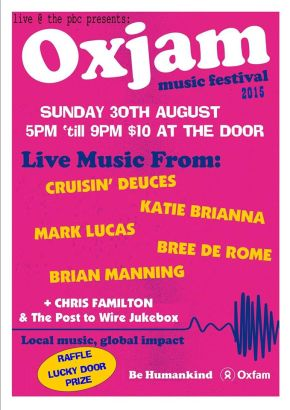 NEWS: The Petersham Bowling Club Presents Oxjam Inner Western