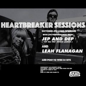 NEWS: Heartbreaker Sessions: Jep and Dep (single launch), Leah Flanagan