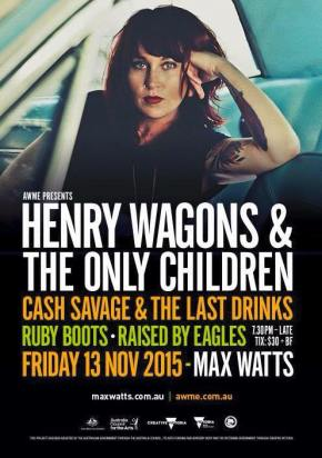 NEWS: AWME Announces Henry Wagons, Ruby Boots, Raised By Eagles, Cash Savage Show