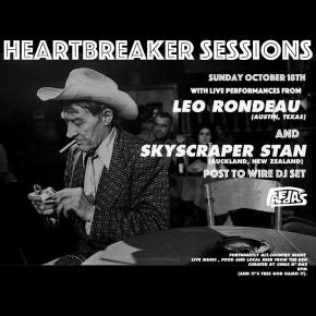 LIVE NEWS: Heartbreaker Sessions feat. Leo Rondeau & Skyscraper Stan