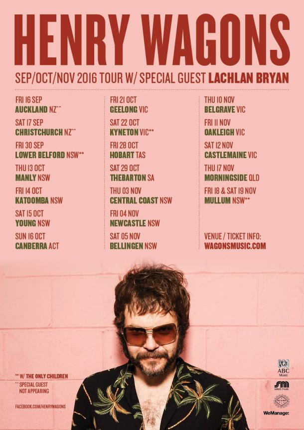Henry Wagons_AU Tour 2016