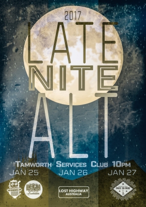 NEWS: PTW Showcase at Late Nite Alt at Tamworth