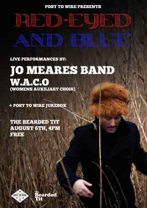 POST TO WIRE PRESENTS: Red-Eyed & Blue – Jo Meares Band and W.A.C.O