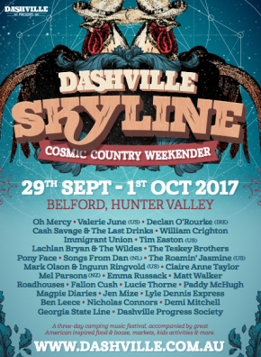 NEWS: Dashville Skyline unveil their full 2017 lineup