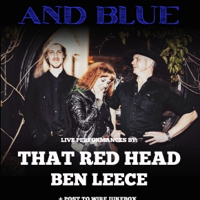 PTW PRESENTS: Red-Eyed and Blue – That Red Head + Ben Leece