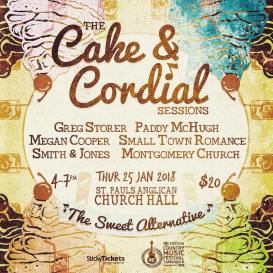 CAKE AND CORDIAL