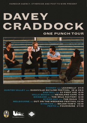 NEWS: Davey Craddock Announces 2018 Tour