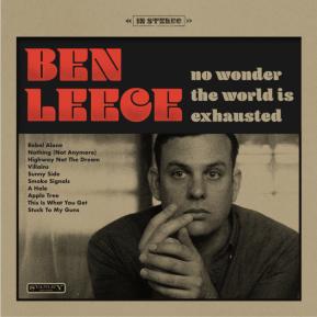 NEWS: Ben Leece Announces Album and NewLabel