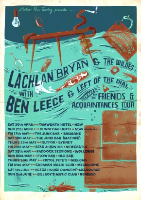 TOUR NEWS: Lachlan Bryan & Ben Leece Announce 'Friends & Acquantainces Tour'