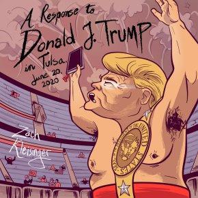 NEW MUSIC: Zach Kleisinger – A Response to Donald J. Trump in Tulsa, June 20,2020